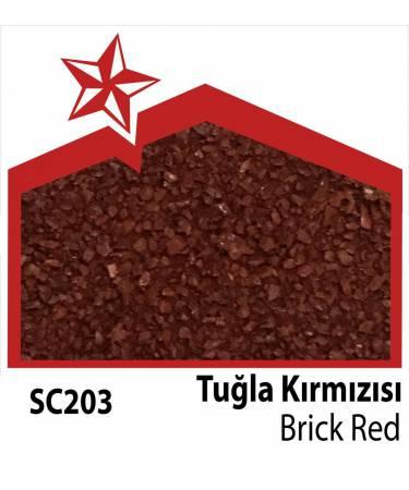 Starbond Metal Kiremit Tuğla Kırmızısı Renkleri