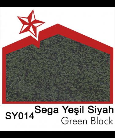 Starbond Metal Kiremit Sega Yeşil Siyah Renkleri