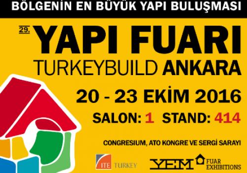 29.Yapı Fuarı Turkeybuıld Ankara